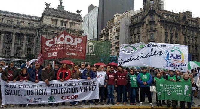 """La CICOP denunció el """"colapso"""" de la salud pública bonaerense"""