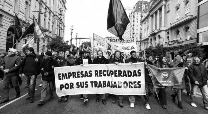Movimientos sociales y fábricas recuperadas salen a la calle ante la crisis