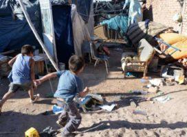 La pobreza argentina se infantiliza