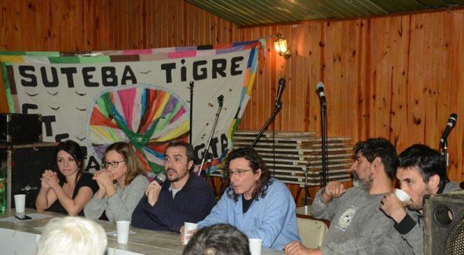 Se lanzó la campaña por la absolución de los 5 trabajadores de la Línea 60