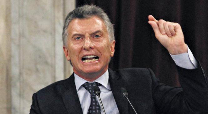 Repudio a las declaraciones del presidente Macri