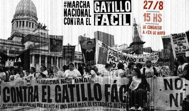 Cónclave de la Marcha Nacional contra el Gatillo Fácil