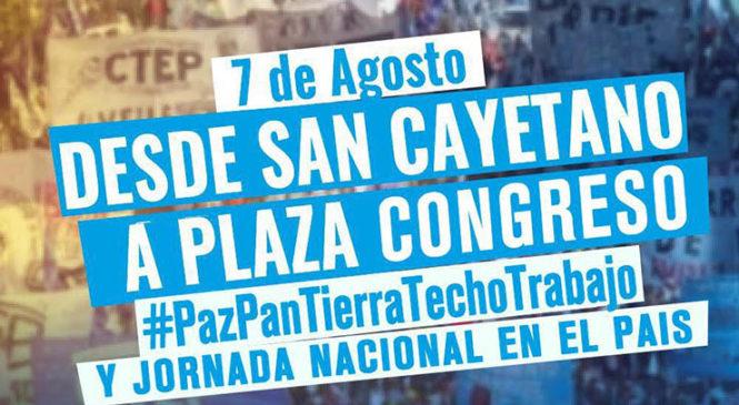 Marcha por Paz, Pan, Tierra, Techo y Trabajo