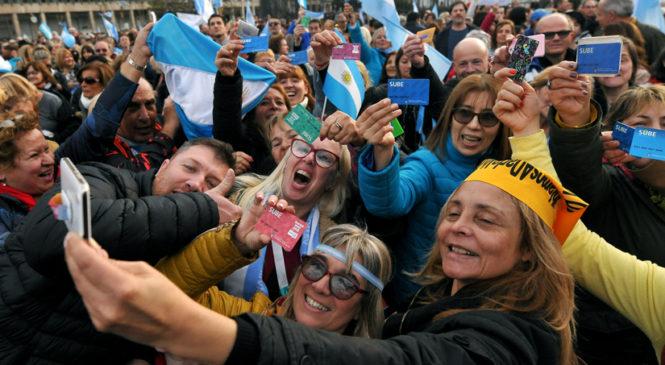 Marcha Macrista a Plaza de Mayo