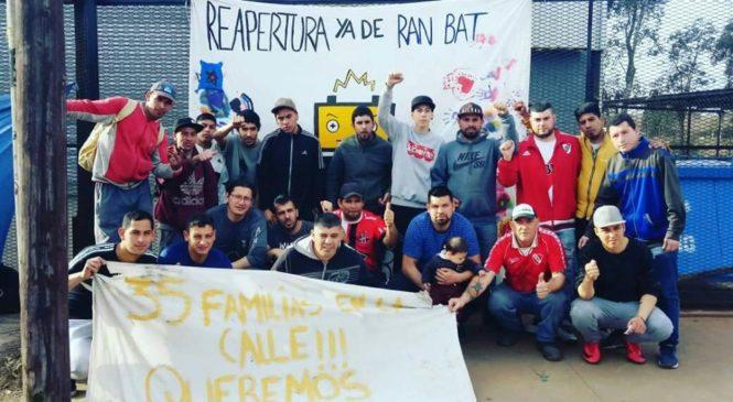 Burzaco: luego de la lucha, reabre la fábrica Ran Bat