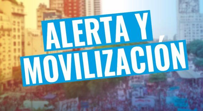 Los Movimientos Populares se declaran en estado de alerta y movilización