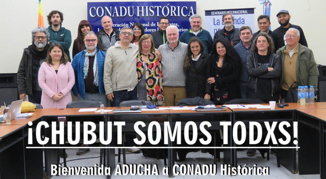 CONADU Histórica convocó a Jornada Nacional de Lucha
