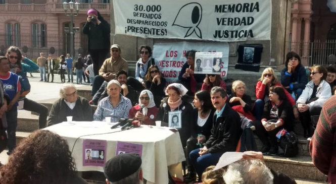 Mirta Acuña de Baravalle presentará un Hábeas Corpus a 43 años de la desaparición de su hija Ana María Baravalle
