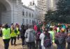 Tras cuatro días de protestas y con represión, cooperativistas lograron el pago de sueldos