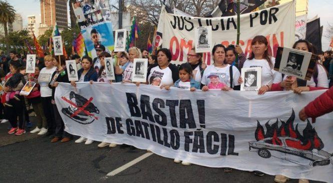 Marcha Contra el Gatillo Fácil en La Plata