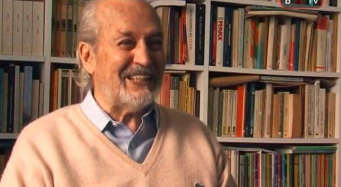 """Guillermo Almeyra 1928 – 2019: """"Un militante de cuatro continentes y un amigo entrañable"""""""