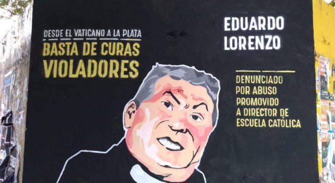 El cura Lorenzo pide cárcel por la pintada de un mural