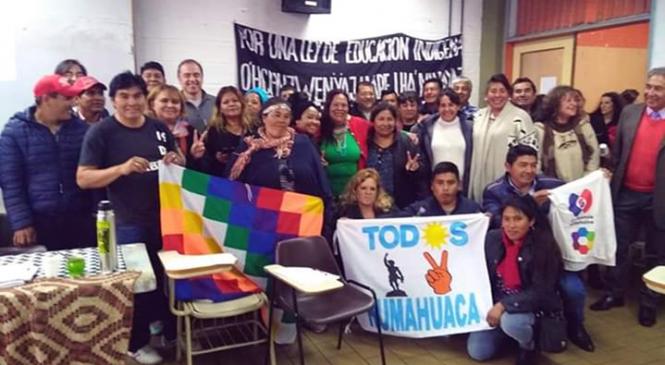 Encuentro de intercambio de candidatos y candidatas indígenas en el Frente de Todos