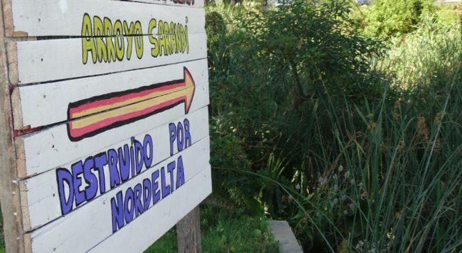 """La destrucción del """"sitio arqueológico Sarandí"""": un cementerio milenario"""
