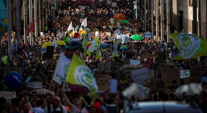 Gana fuerza la lucha verde contra el calentamiento global