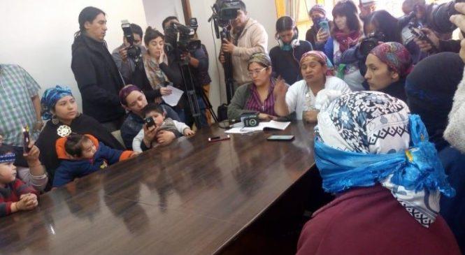 Bariloche: Comunidad Lafken Winkul Mapu reclamó en el Municipio