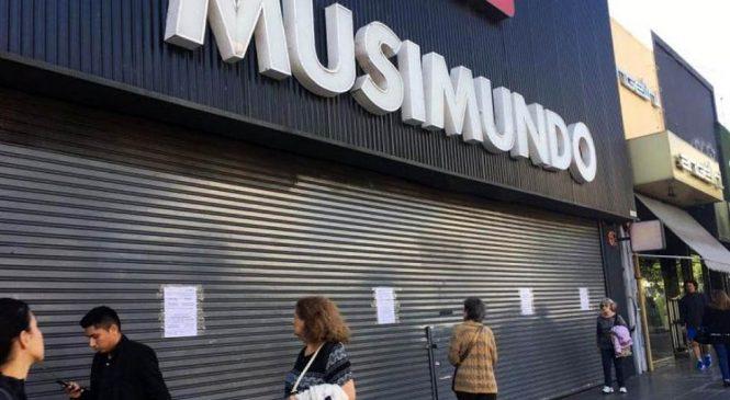 Musimundo cerró 11 locales y despidió a más de 120 trabajadores en las últimas 24 horas