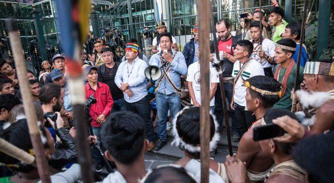 Comunidades originarias de Ecuador frenan la construcción de una hidroeléctrica