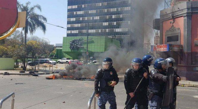 Córdoba: reprimieron protesta de Luz y Fuerza y detuvieron al hijo de Agustín Tosco