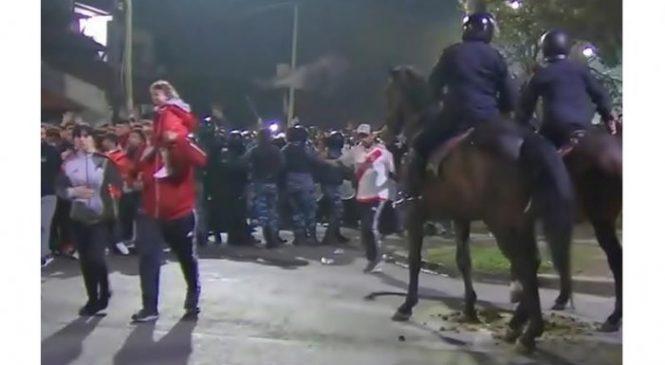 Policía, represión y fútbol