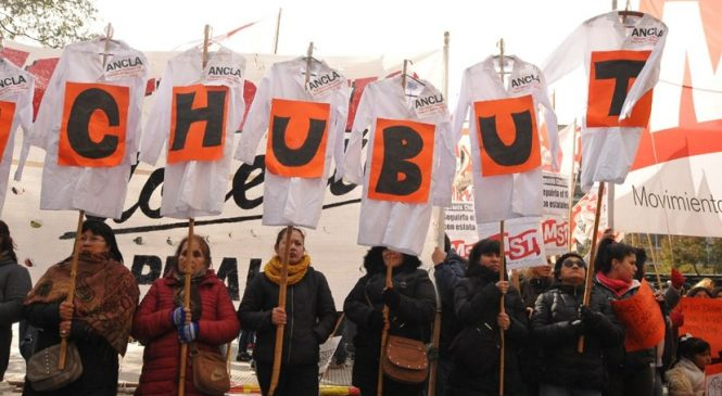 Paro nacional en solidaridad con docentes de Chubut