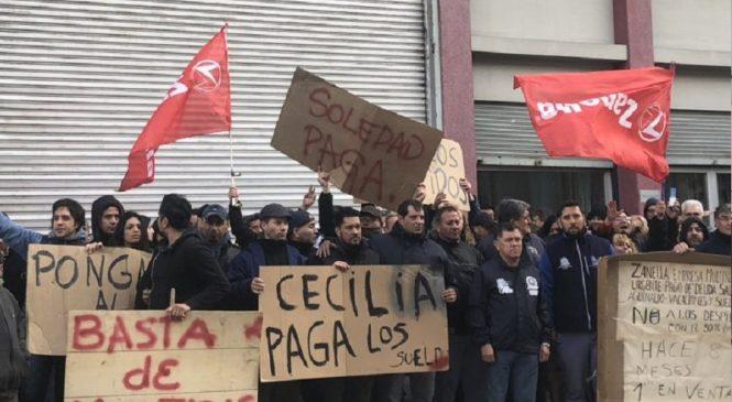 Zanella ofreció a sus 132 empleados de Caseros pagarles sueldos adeudados con generadores eléctricos y 4200 pesos