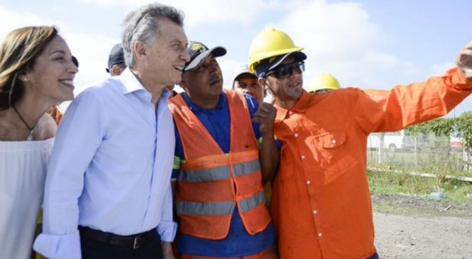 Un día después de la visita de Macri y Vidal, 40 trabajadores fueron despedidos en la Ruta 7