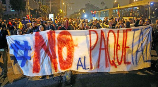 Ecuador: organizaciones se manifestarán en solidaridad en Buenos Aires