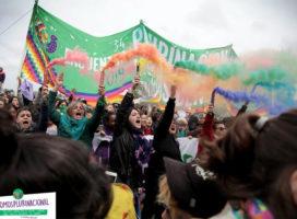 Día histórico para los feminismos organizados