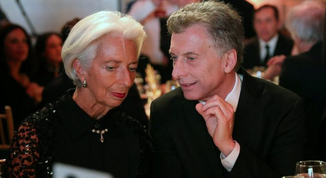 Elecciones en Argentina: Macri , el Fondo Monetario Internacional y su megalomanía y sed de poder