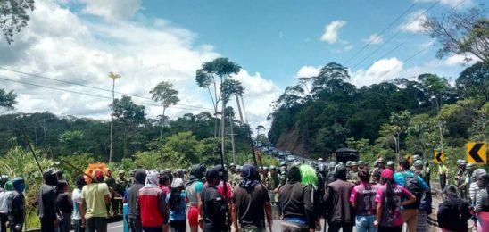Imponente movilización popular en Ecuador
