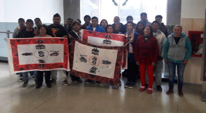"""""""El Pueblo Chuschagasta libre y organizado desde el territorio ancestral diaguita levanta su voz"""""""