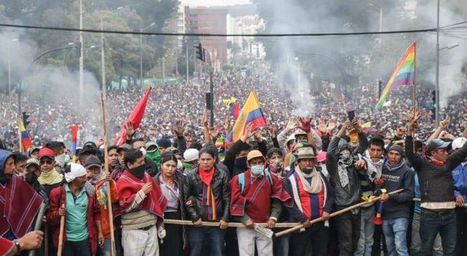 Ecuador: Día 7 del Paro Nacional