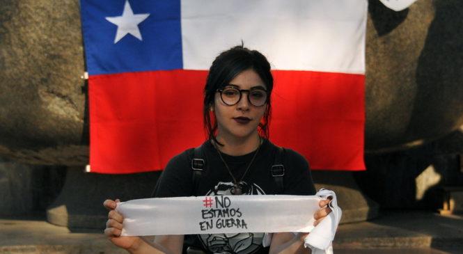 Festival solidario con el pueblo chileno