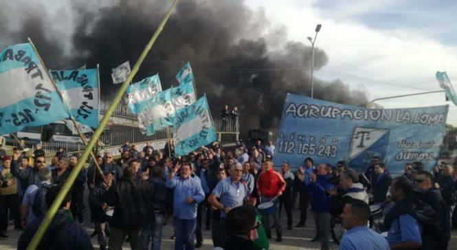 Expreso Lomas: ganaron los choferes y volverán a las calles