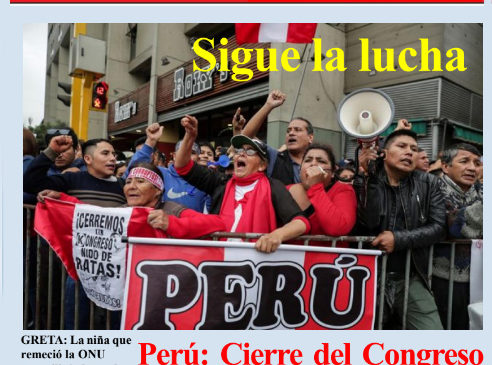 Perù: Lucha Indìgena N° 158 octubre 2019