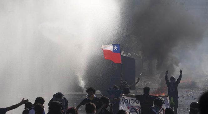 Chile: Disculpe las molestias, estamos luchando para ustedes