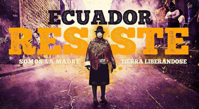 #SOSEcuador: Exigimos el cese de la violencia por parte del gobierno ecuatoriano
