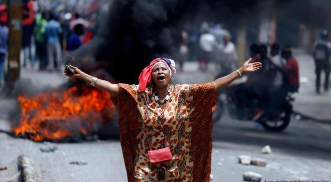 En Haití, movilizaciones llegan a un mes exigiendo la renuncia del presidente y el fin de la injerencia internacional