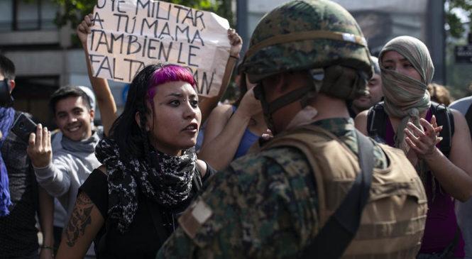 Denuncian violaciones y torturas en Chile