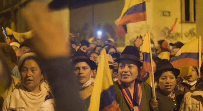 """""""Esto no para hasta que el FMI salga del Ecuador"""""""