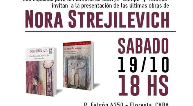 """Presentación de las últimas obras de Nora Strejilevich en el ex CCDTyE """"Olimpo"""""""