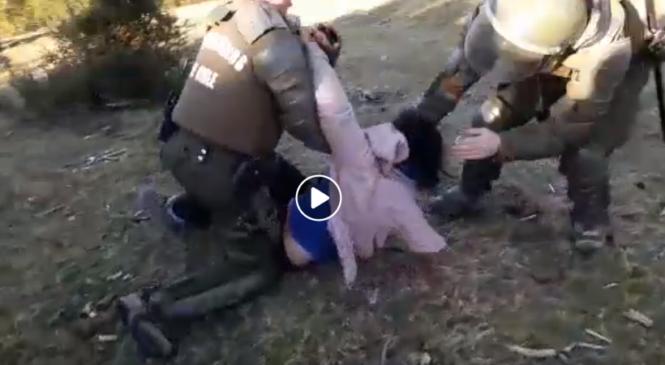 Chile: Organizaciones  exigen  terminar  con  fuerza  represiva  y  actos  de  abuso  en  Chiloé  por  crisis  de  la  basura