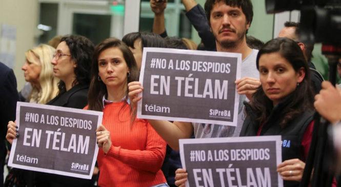 Télam: la Justicia sobreseyó a 25 trabajadores