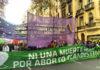 Marcha por el Día Internacional de la No Violencia hacia las Mujeres y Disidencias