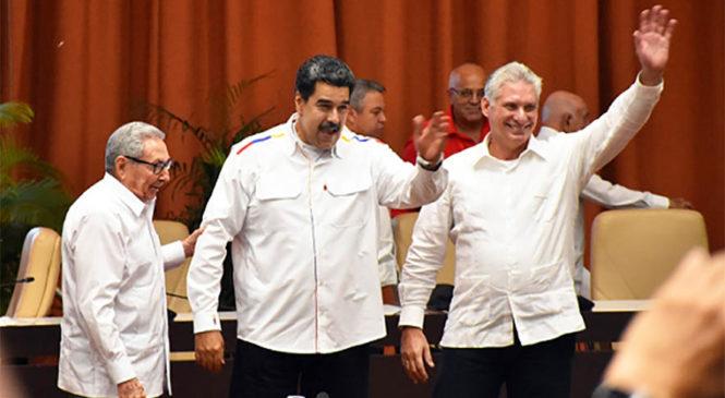 Cuba: Maduro, Díaz Canel y Raúl Castro participaron en la clausura del Encuentro Antiimperialista
