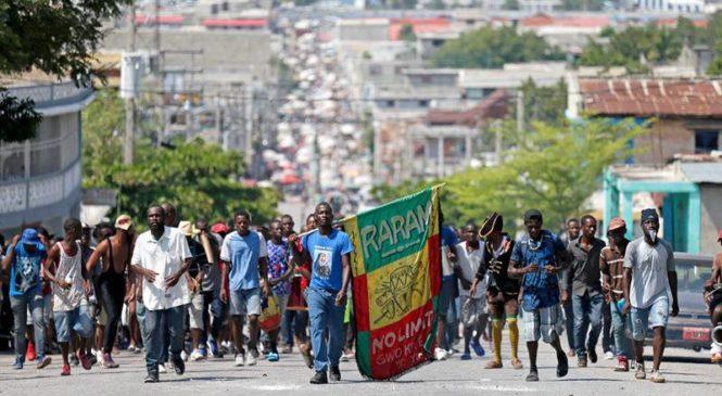 """Haití: """"Hacia una plataforma mínima para un gobierno de transición"""""""