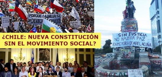 Chile: ¿Nueva Constitución Sin el Movimiento Social?