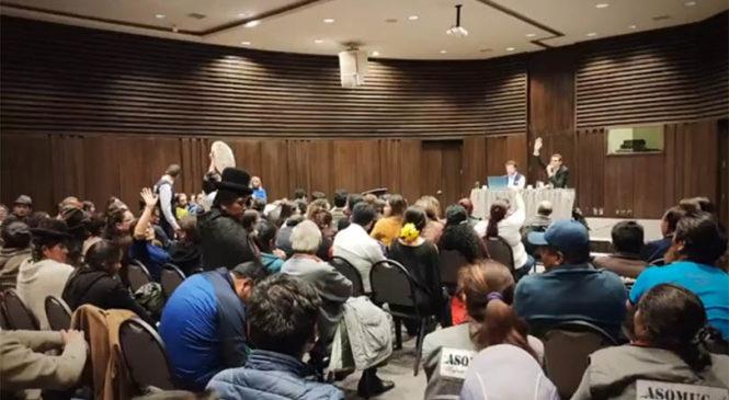 Bolivia: La CIDH escuchó a familiares de la Masacre de Senkata