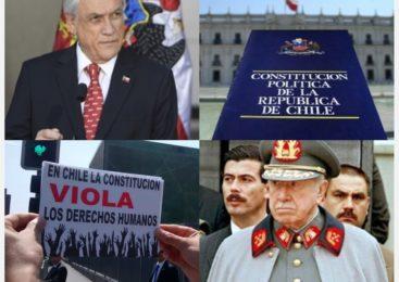 La Constitución Política neoliberal de Chile es ilegítima, antidemocrática y coarta Derechos Humanos